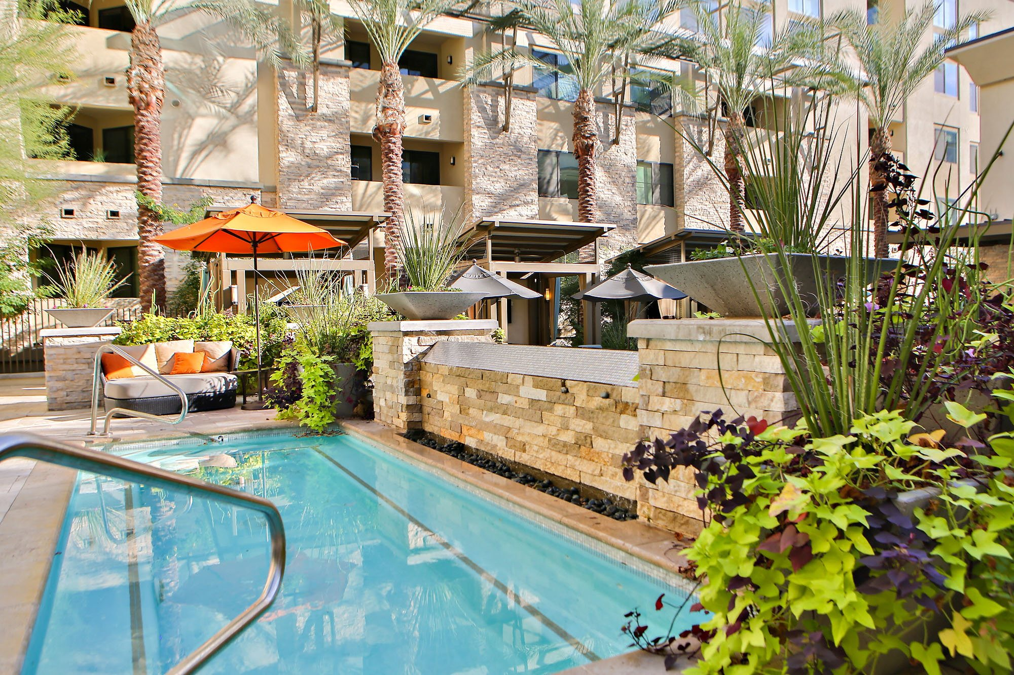 Large Spa at Camelback, Phoenix, AZ,85016