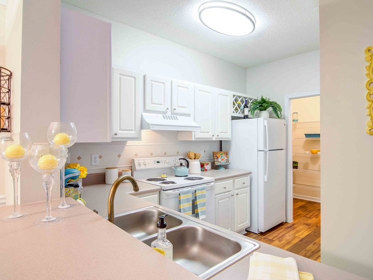 Kitchen With High Quality Countertops