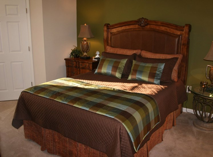 Large Bedrooms at Grande Oaks