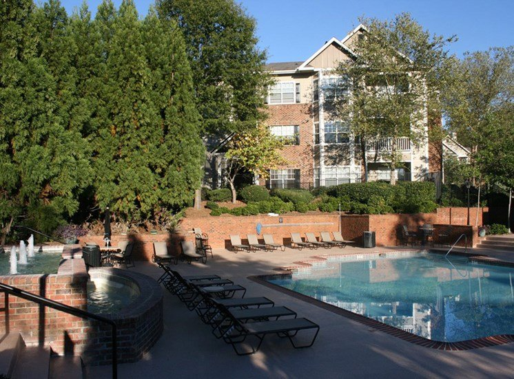 Swimming Pool with Sundeck at Grande Oaks