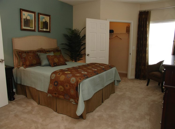 Spacious Bedroom at Grande Oaks