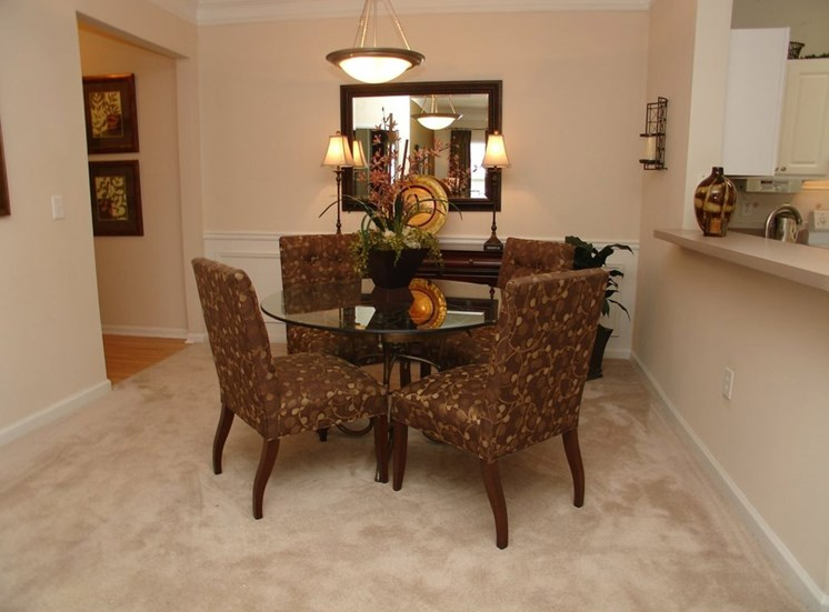 Spacious Dining Room at Grande Oaks