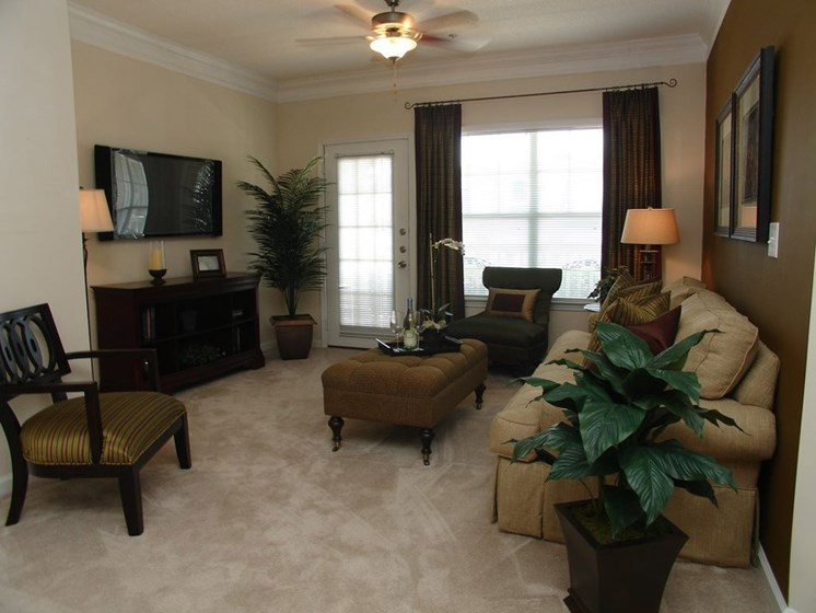 Living Room Sofa at Grande Oaks