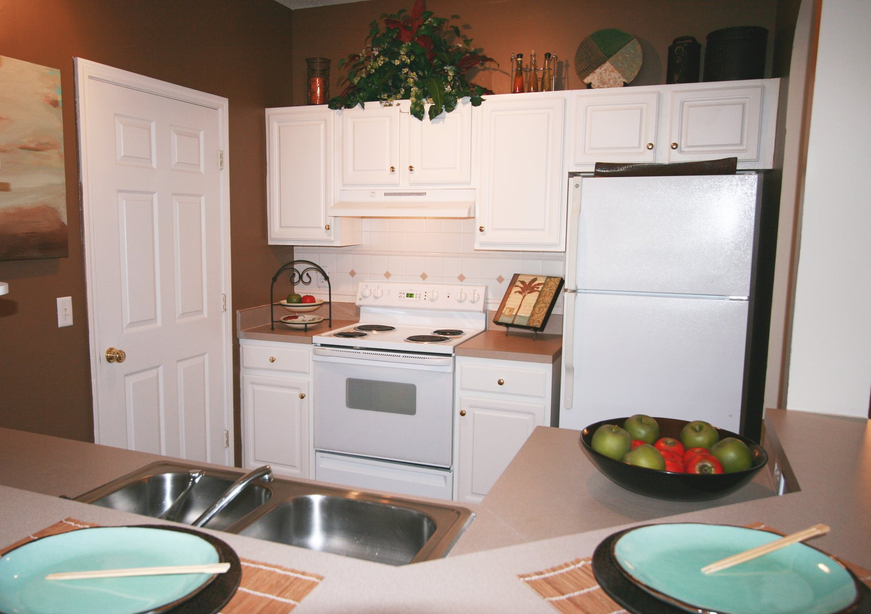 Fully equipped kitchen at Grande Club