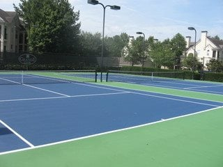 Two Lighted Tennis Courts at Grande Club, 30096