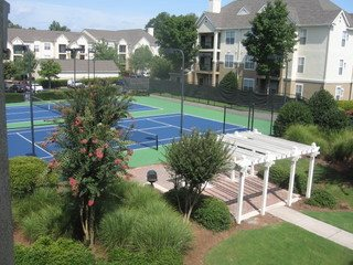 Grande Club, Duluth, GA,30096 has Two Lighted Tennis Courts