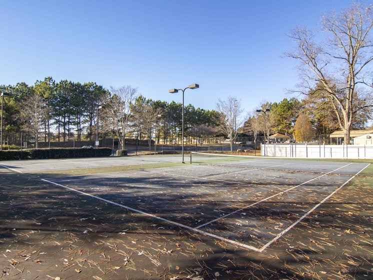 Open Tennis Court