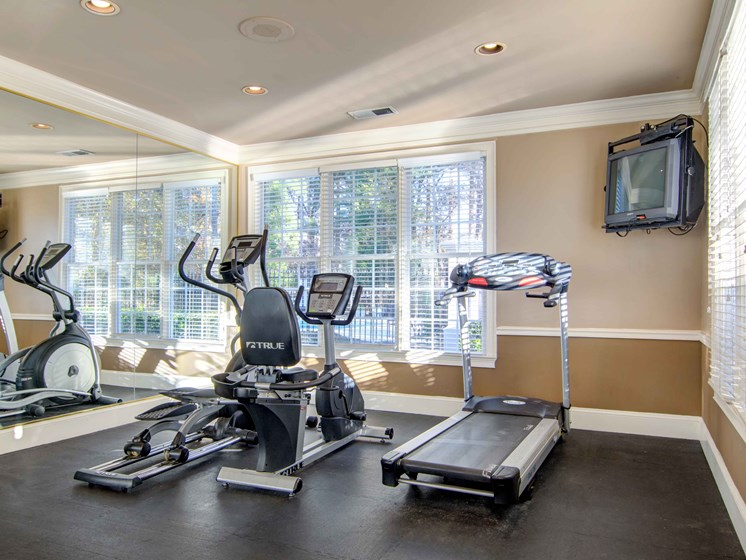 Cardio Equipment In Fitness Center at Durant at Sugarloaf, Lawrenceville, 30044