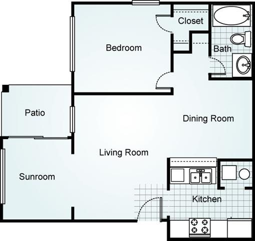 THE MAPLE Floorplan at Brook Valley