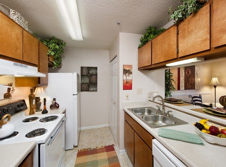 Brook Valley has Spacious Kitchen with Pantry Cabinet