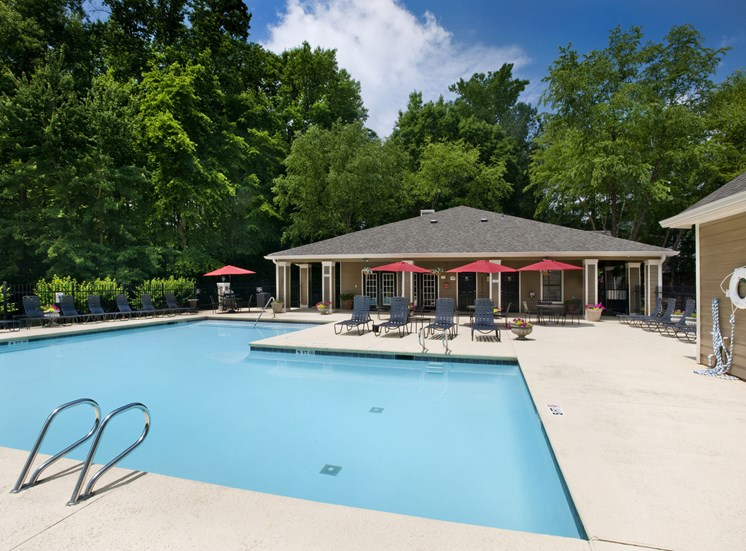 Resort-Style Pool With Shaded Lounge Area by Pool at GA,30135
