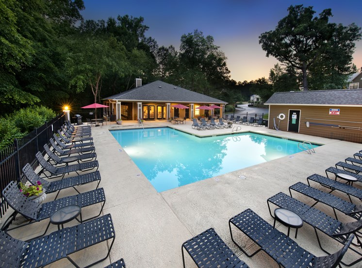 Pool Side Relaxing Area at Brook Valley, Douglasville, GA,30135