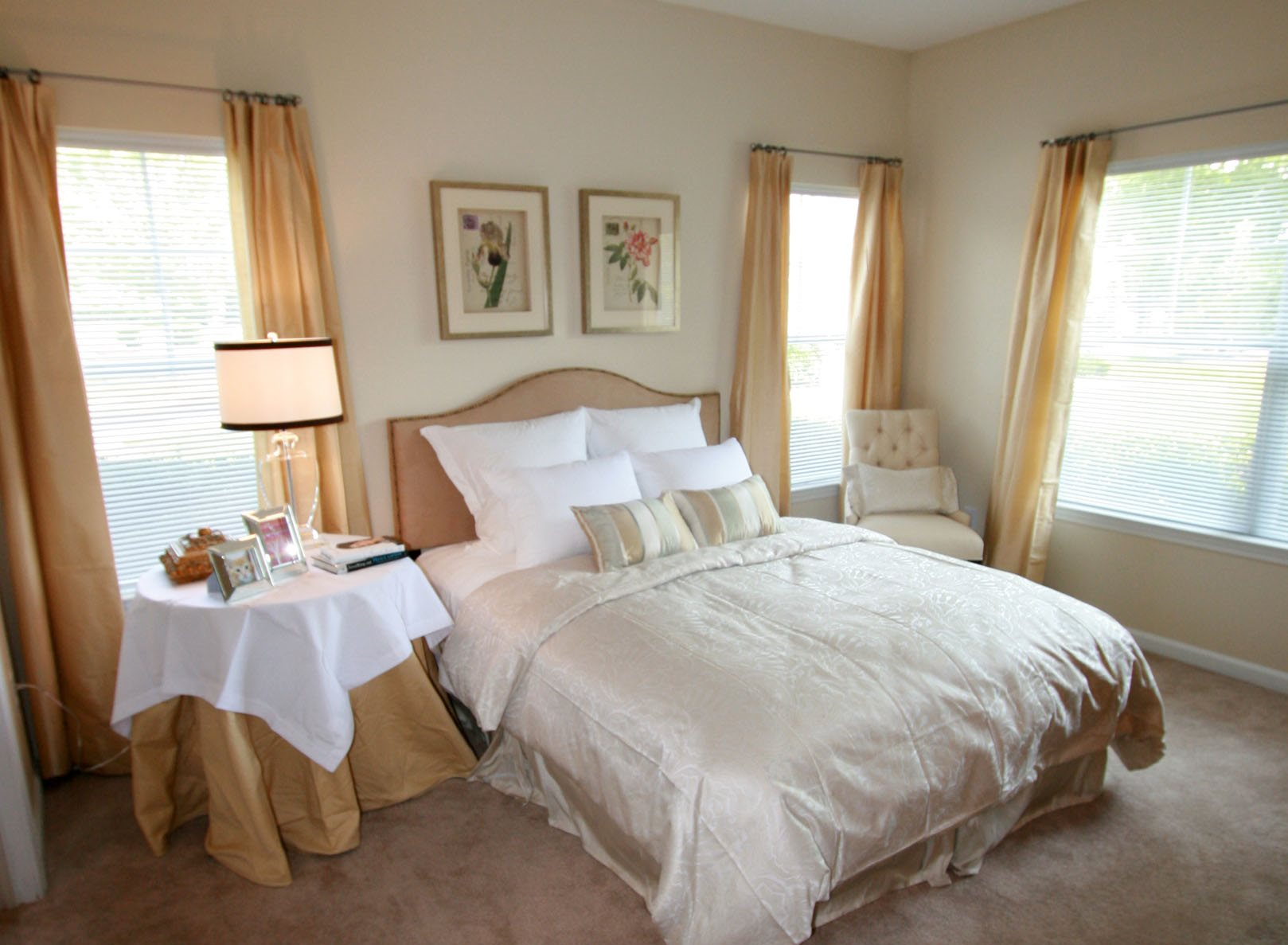 Live in cozy bedrooms at Alta Mill Apartments, 1650 Anderson Mill Road, Austell, GA 30106