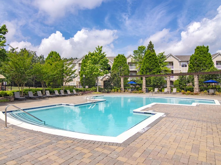 2 Resort Style Pools at Alta Mill cheap one bedroom apartments in Austell