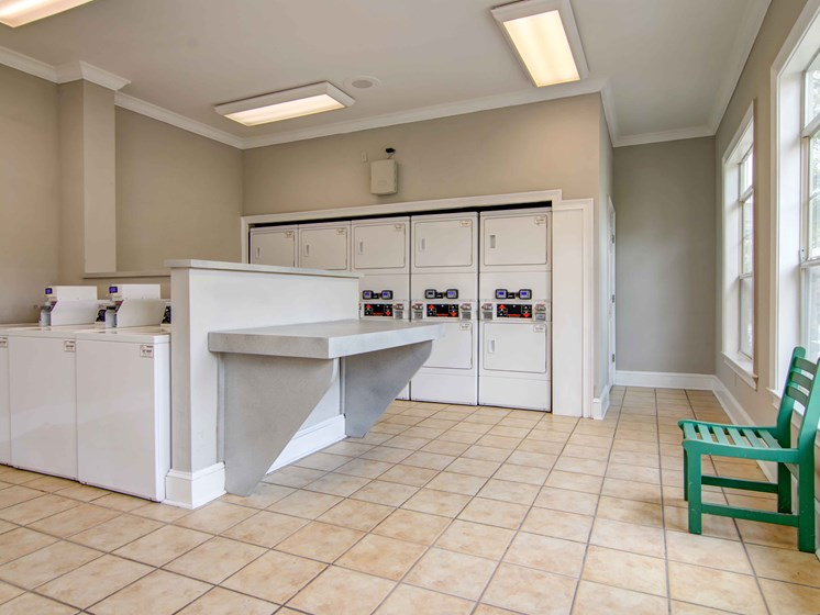Laundry Room at Alta Mill 3 bedroom apartments in Austell GA