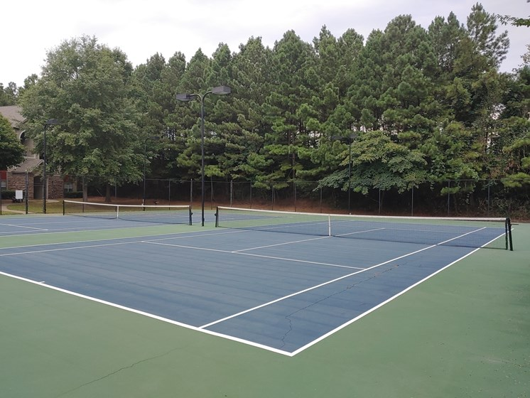 Tennis Court at Alta Mill best apartments in Austell GA