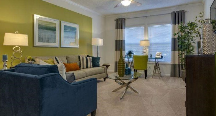 Spacious Living Rooms at TownPark Crossing,