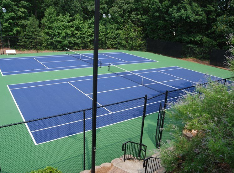 2 Lighted Tennis Courts at TownPark Crossing, GA