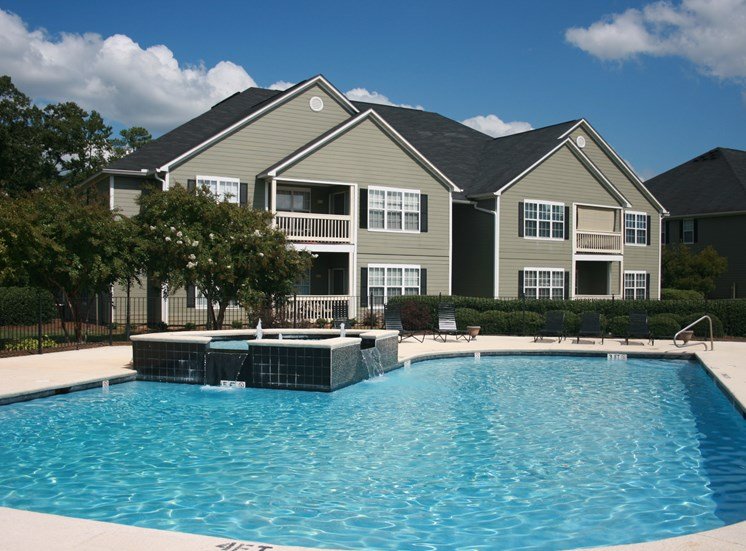 Resort-Style Pool and Cabana at Northwood, Macon, 31220