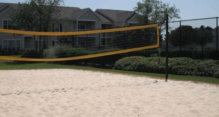 Sand Volleyball Court at Bradford Place, Warner Robbins,