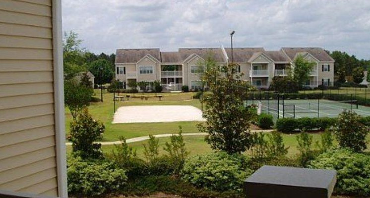 Lighted Tennis and Sport Court for Resident at Bradford Place, Warner Robbins, GA