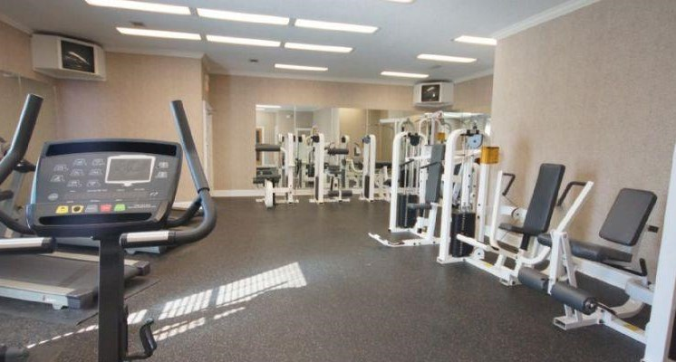 Fitness Center with updated equipment at Bradford Place, GA,31088