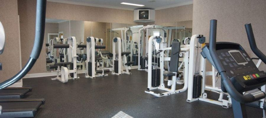 Fitness Center with updated equipment at Bradford Place, Warner Robbins, GA,31088