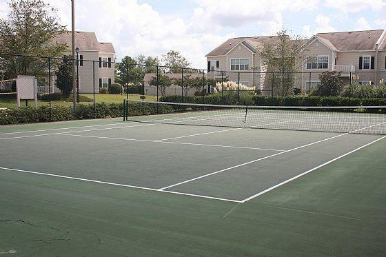 Tennis Court for Residents at Bradford Place, Warner Robbins,
