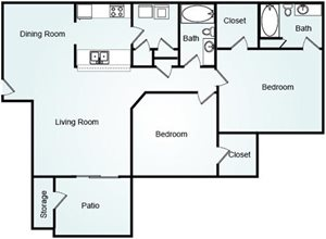 BRIGHTON WITH SUNROOM Floorplan at Bradford Place