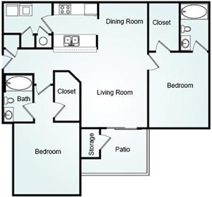 LITCHFIELD Floorplan at Bradford Place