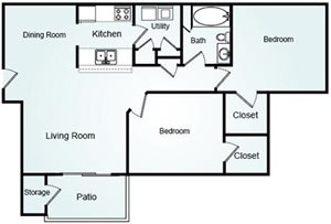 SUMMERSET Floorplan at Bradford Place