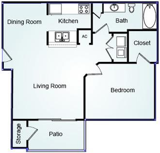 WESTPORT Floorplan at Bradford Place