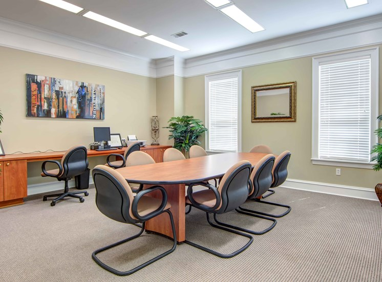 Executive Business Center at Bradford Place Apartments, Warner Robbins, GA, 31088