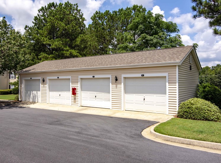 Garages Available at Bradford Place Apartments, Warner Robbins, GA