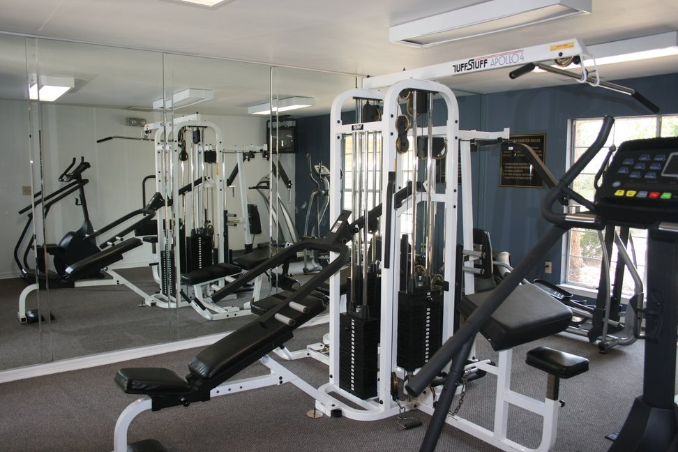 Fitness Center with updated equipment at Galleria Park