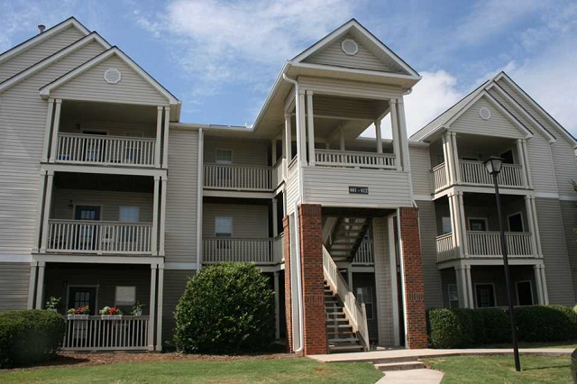 patio balconies, Warner Robbins, GA, Galleria Park