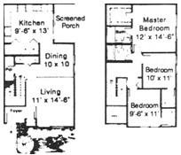 THE MAJESTIC Floorplan at Royal Oaks