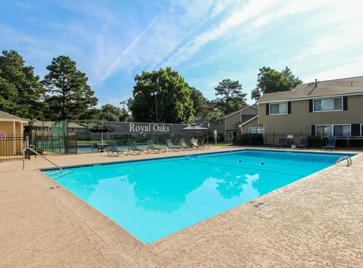 Resort-Style Pool at Royal Oaks, Savannah, GA,31406