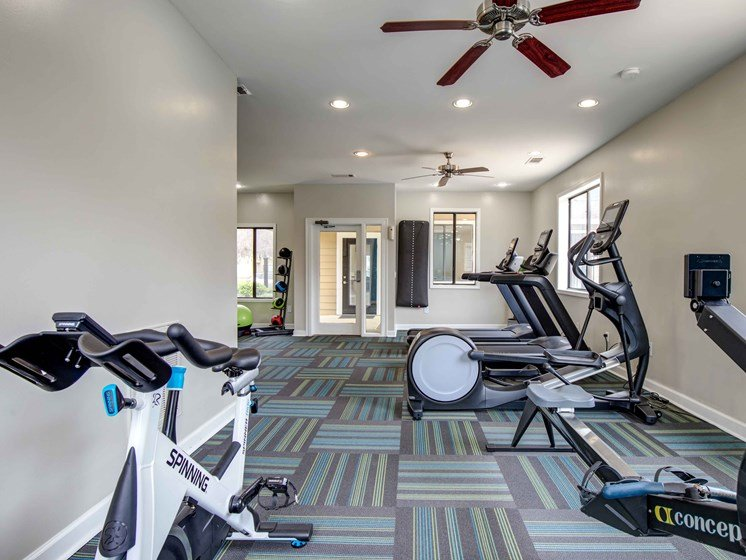 Cardio Equipment at Royal Oaks Apartments, Savannah