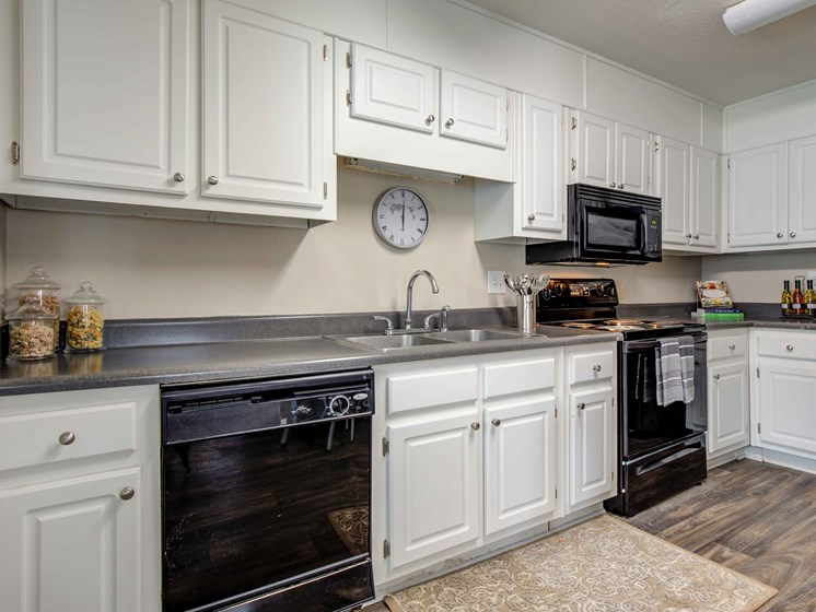 Spacious Kitchen with Pantry Cabinet at Royal Oaks Apartments, Savannah, GA, 31406