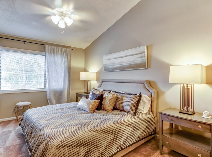 Comfortable Bedrooms at Royal Oaks