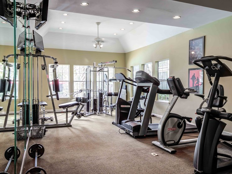 24-Hour, Fully Equipped Fitness Center