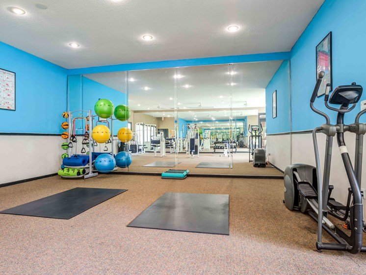 24-Hour Fitness Center, Yoga, and Elliptical's