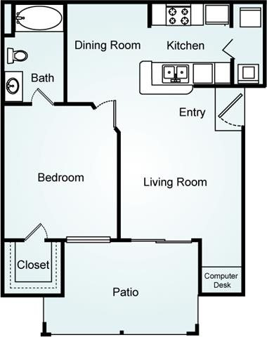 THE ASPEN Floorplan at Lodge at Mallard Creek