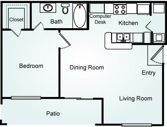 THE BIRCH Floorplan at Lodge at Mallard Creek