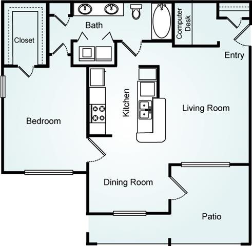 THE CEDAR Floorplan at Lodge at Mallard Creek