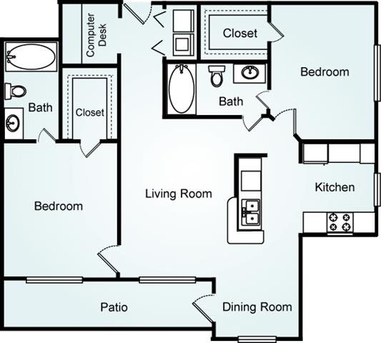 THE DOGWOOD Floorplan at Lodge at Mallard Creek