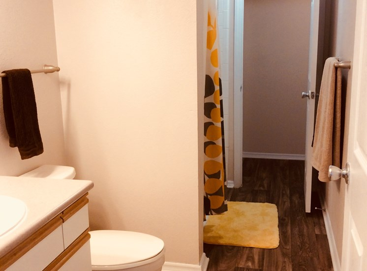 Spacious Bathrooms at Lodge at Mallard Creek Apartments, Charlotte, NC