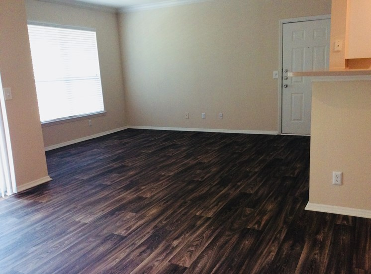 Wood Flooring at Lodge at Mallard Creek Apartments, Charlotte, North Carolina