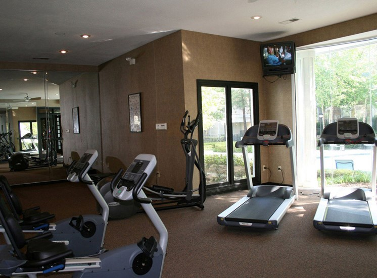 High-Tech Fitness Center at Lodge at Mallard Creek Apartments, 7815 Chelsea Jade Lane, NC 28269